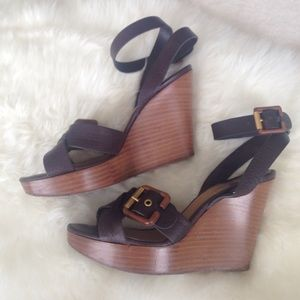 Chloe wedge sandals