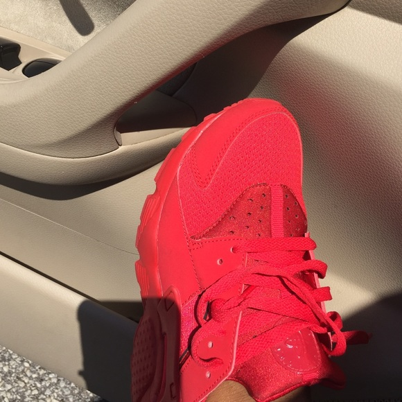 Fire Red Huaraches