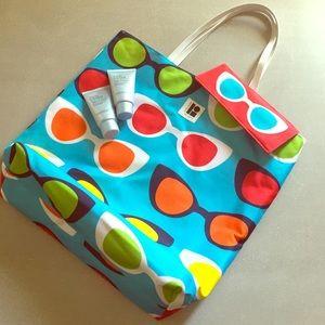 Estée Lauder beach bag +