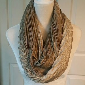 No name Accessories - Gold scarf