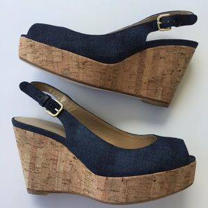 Stuart Weitzman Shoes - 💕Sale💕Stuart Weitzman The Jean Wedge