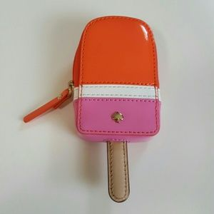 kate spade Handbags - Kate Spade Strawberry Popsicle Coin Purse