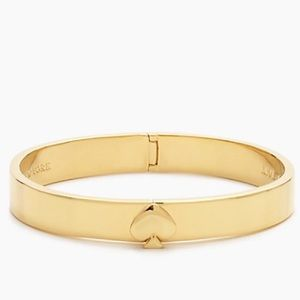 HP 11/9 Kate Spade Gold Hinge Bangle