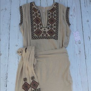 Free People Dresses & Skirts - Free People Wrap Dress Size Small NWT