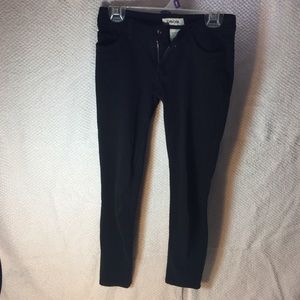 Kids M7/8 black jegging/jean