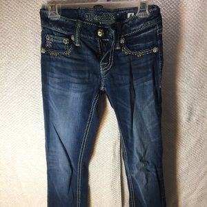 Miss Me Bottoms - Kids Miss Me skinny jeans. size 8.