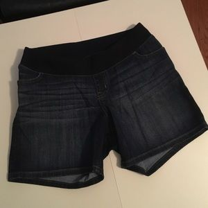 Liz Lange Pants - Liz Lange Dark Denim Short