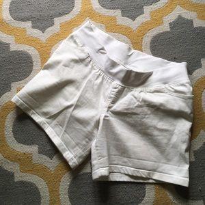 Liz Lange Pants - Liz Lange White Denim Shorts