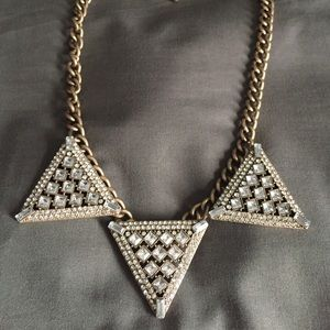 Baublebar triad statement necklace