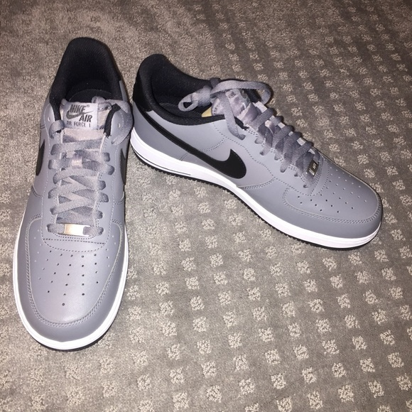Nike Shoes   Grey And Black Air Force