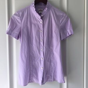 J Crew Haberdashery Button up Shirt size 2