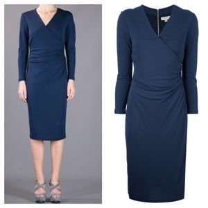 Burberry London V-Neck Dress