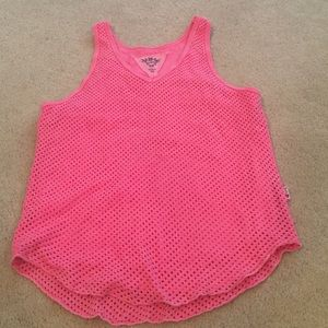 T2 Love Other - T2love hot pink tank top girls 10 EUC! Excellent!
