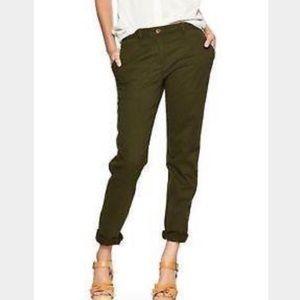 Gap Aubrey Olive Khaki Pants