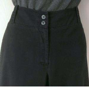 Van Heusen Pants - Van Heusen Black Stretch Capris Size 14 Women