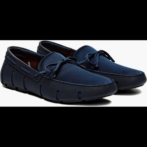 Swims Other - SWIMS Men's Lace Loafers Navy
