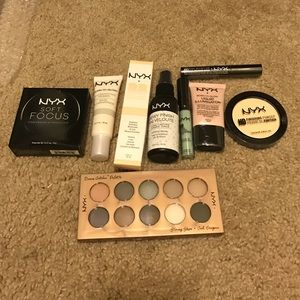 NYX bundle of 9 products