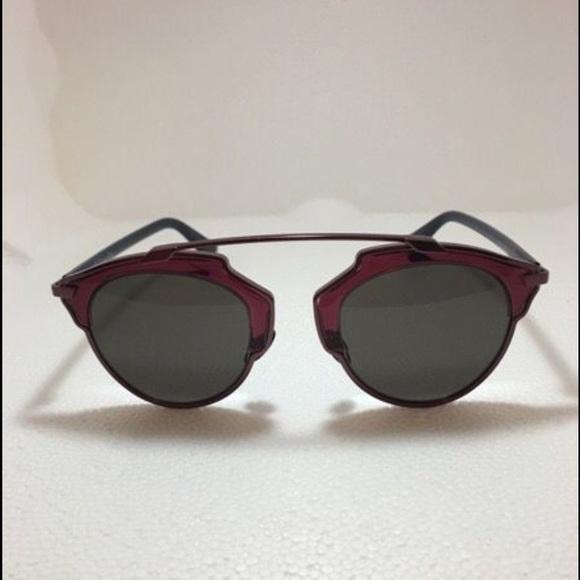5567cf1f86b1 Brand new Dior So Real sunglasses. NWT. Christian Dior