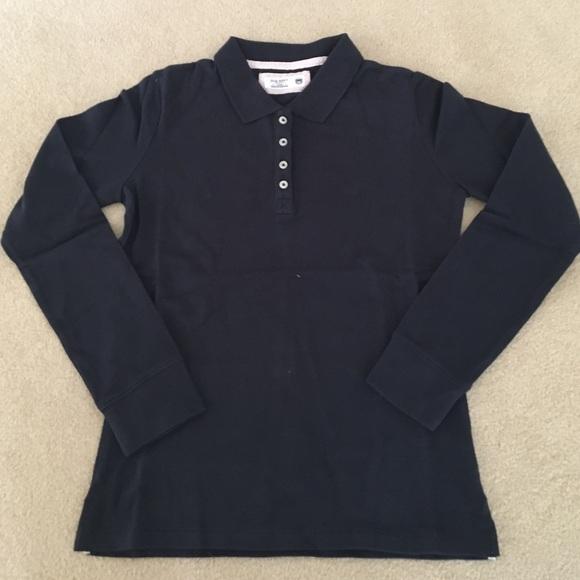 65f5ee0ad Girls Old Navy long sleeve polo uniform shirt.