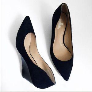 Belle by Sigerson Morrison Shoes - Belle By Sigerson Morrison Wedge Pumps Sz 6.5