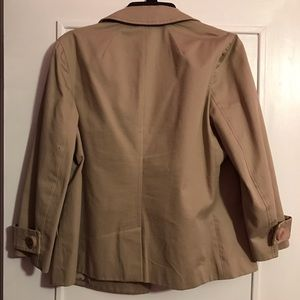 84c37ce06 Tory Burch Jackets   Coats - Tory Burch Blarr Cropped Trench Coat sand  dollar