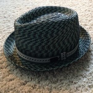 Bailey Of Hollywood Accessories - Green and black trilby hat