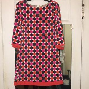 Eliza J Dresses & Skirts - Eliza J 3/4 length sleeve shift dress