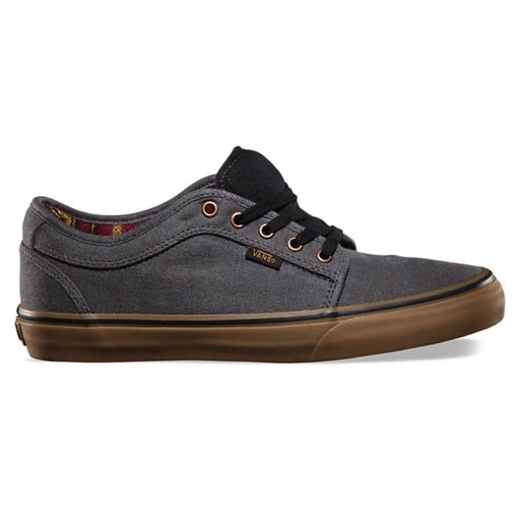 VANS CHUKKA LOW HEMP DARK GREY GUM. M 58052cb87f0a057f020051e6 b872a04681