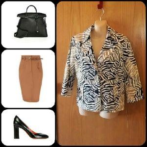 Rafaella Jackets & Blazers - CLEARANCE Rafaella Petite Jacket SZ MP NWT
