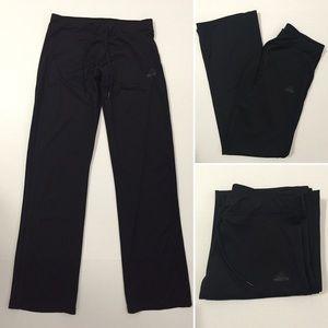 Adidas Pants - [Adidas] women's black athletic track pants szS-M