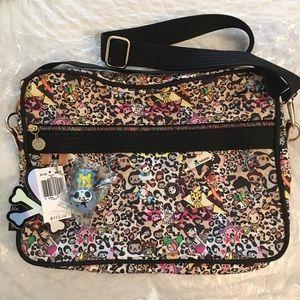 tokidoki Handbags - Tokidoki Imagini Leo Leopard Laptop Notebook Bag