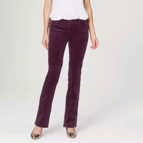 60% off LOFT Pants - SALE! LOFT Plum Curvy Boot Cut Corduroy Pants ...