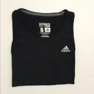 Adidas Tops - [Adidas] women's black athletic tank top szS