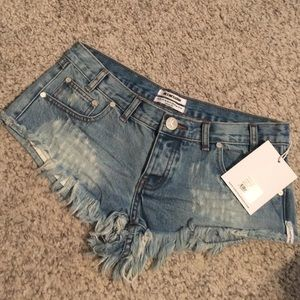 One Teaspoon Denim Short- Size 28