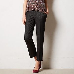 Cartonnier Anthro Sparkle Lou Straight Trousers