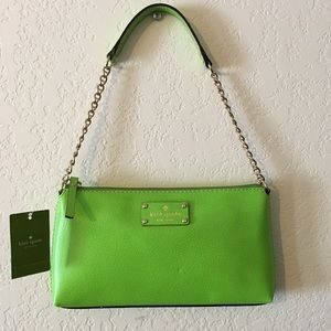 Authentic Kate Spade Wellesley Apple Green Bag