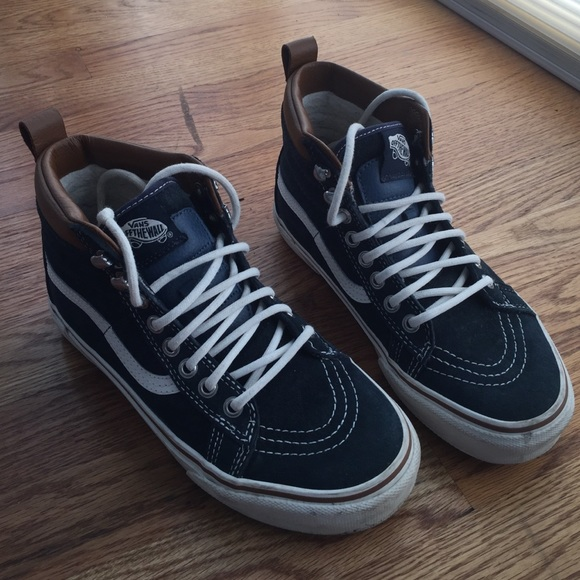 3312607d42 Weatherized Vans SK8-Hi. M 580542a1c6c7959c4a0091b3. Other Shoes ...