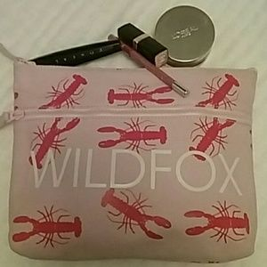WILDFOX PINK LOBSTER CANVAS BAG host pick