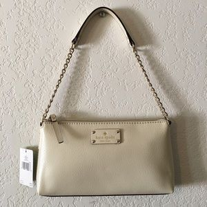 Authentic Kate Spade Off White Wellesley Bag