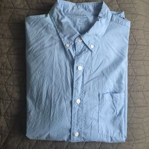 J. Crew Other - J Crew Lightweight Long Sleeve Button Up