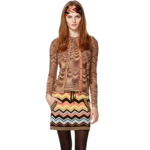Missoni Dresses & Skirts - Missoni for Target Chevron Sweater Skirt
