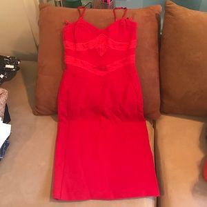 Emporio Armani Dresses & Skirts - Emporio Armani Red Dress