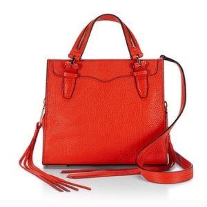 Rebecca Minkoff Handbags - NEW mini Blair tote in poppy