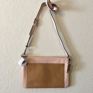 Authentic Coach 48872 Leather Crossbody bag