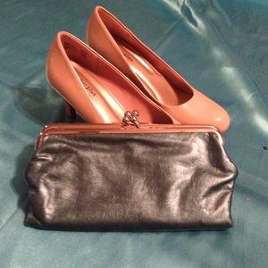 Vintage Style Coin Purse Clutch