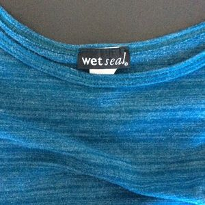 Wet Seal Tops - Blue 3/4 Sleeve Top 💙
