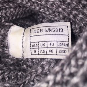 UGG Shoes - Tall Cardy UGG Sweater Boots🎉 1 day special Firm!