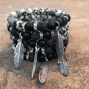Boho Gypsy Sisters Jewelry - Great Gift! Dark Gypsy Bracelet