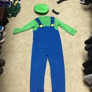 Nintendo Other - Super Mario Bros costume Luigi size 8