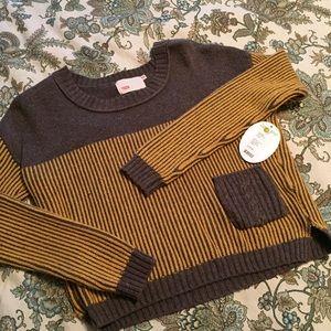 Yoon Sweaters - Yoon Anthropologie Broich Stitch Sweater Sz XS